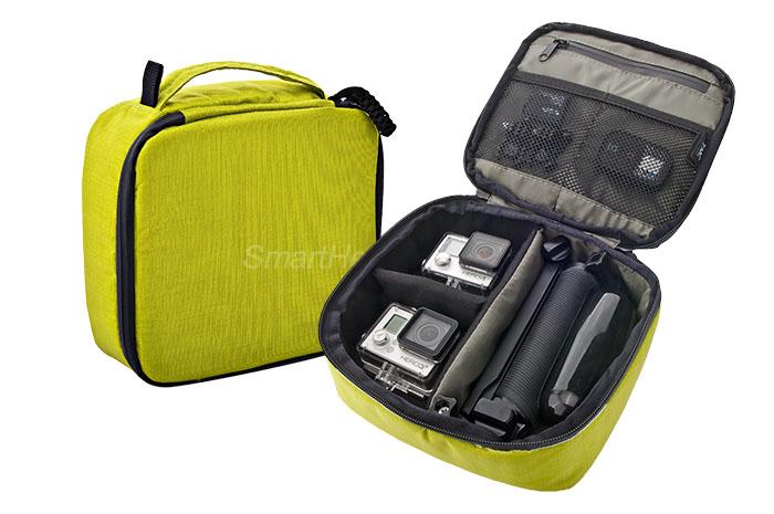 กระเป๋ากล้อง ยี่ห้อ TMC Sport ไซส์ M ( 22 x 20 x 7 cm ) - [เขียว]