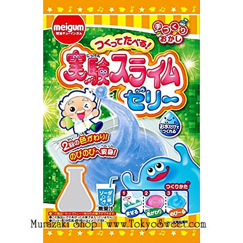 พร้อมส่ง ** Jikken Slime Jelly ชุดทำเจลลี่สไลม์เปลี่ยนสี ใช้แค่น้ำก็ทำได้แล้วค่ะ (ทานได้)