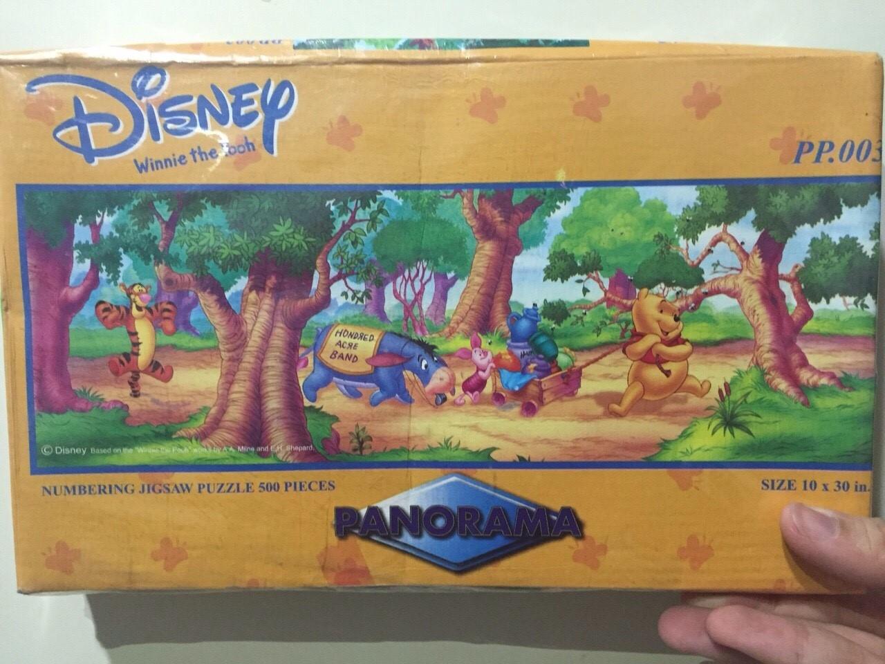 ภาพต่อจิ๊กซอว์กระดาษการ์ตูน 500ชิ้น Cartoon Jigsaw Happiness Puzzle 500 pcs.