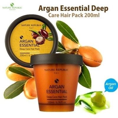 ++พร้อมส่ง++Nature republic Agan Essencial Deep Care Hair Pack 200ml