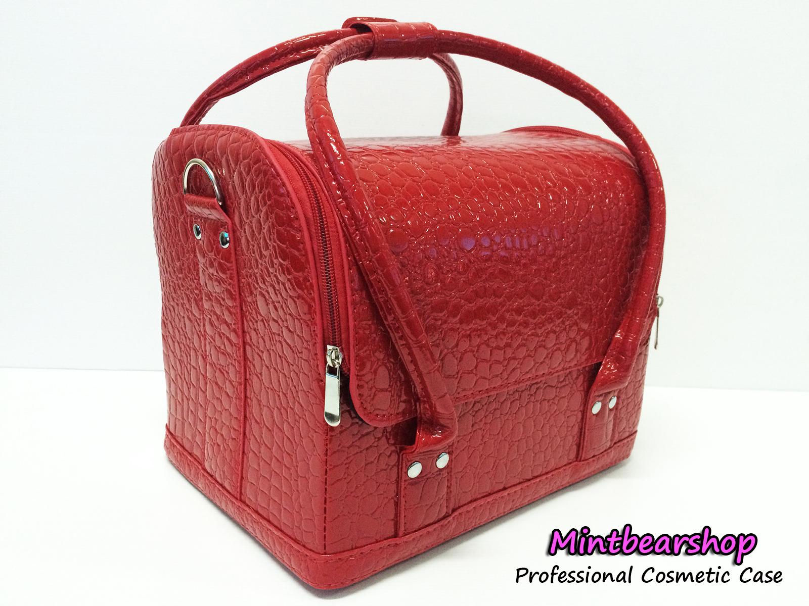 กระเป๋าเครื่องสำอางค์ Series C (Red)
