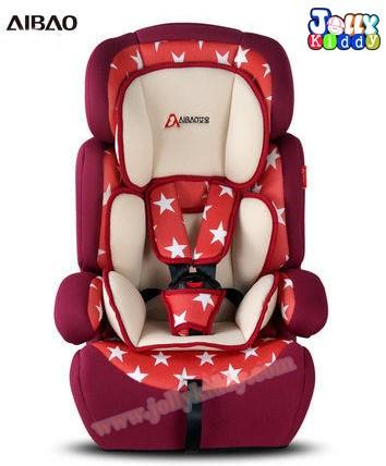 C10118 Car searเบาะติดรถยนต์ Red star คาร์ซีทยี่ห้อ Aibao (ของใหม่) สินค้านำเข้าคุณภาพ