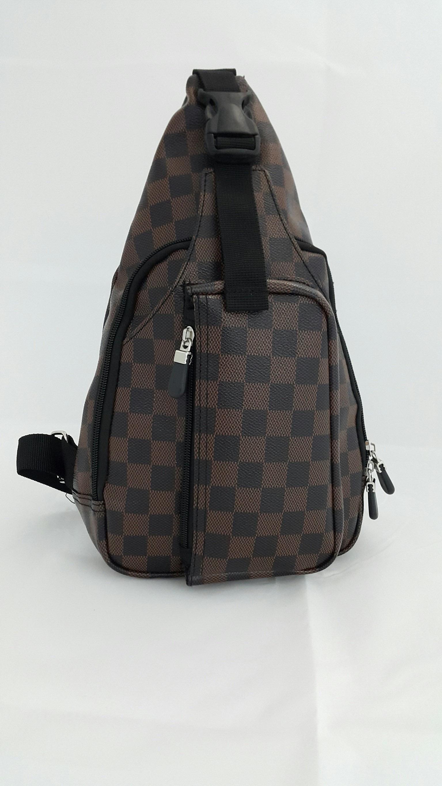 กระเป๋าคาด-อก (ลายตาราง)