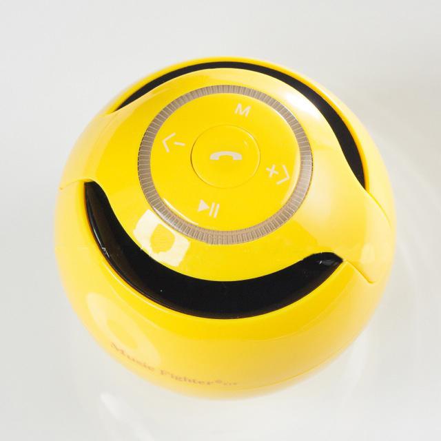 ลำโพง ไร้สาย Bluetooth Speaker KINGONE K19 สีเหลือง