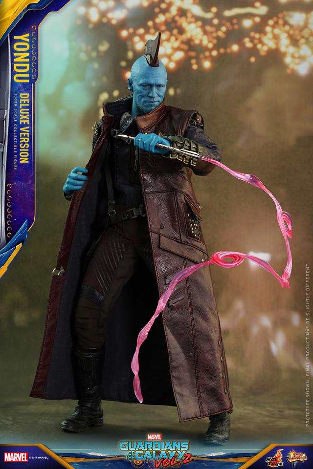 Hot Toys MMS436 GUARDIANS OF THE GALAXY VOL. 2 - YONDU (DELUXE VERSION)
