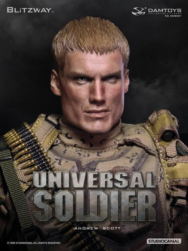 Damtoys - DMS001 UNIVERSAL SOLDIER Andrew Scott