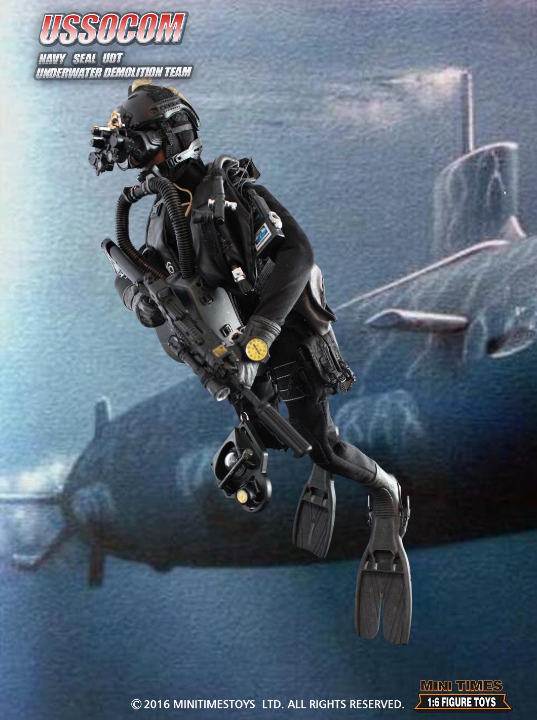 Mini Times Toys M003 USSOCOM NAVY SEAL
