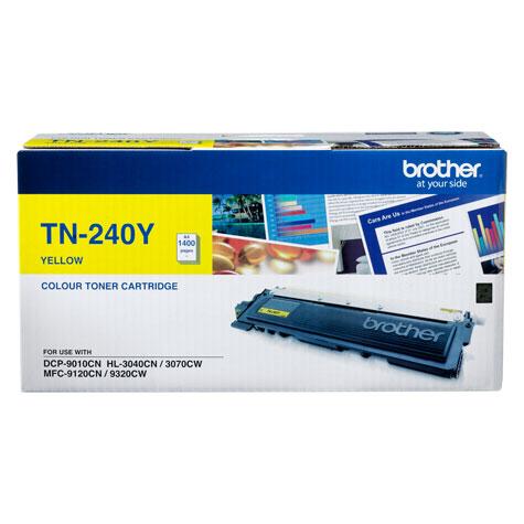 Brother TN-240Y ตลับหมึกแท้ สีเหลือง ราคา 2050 บาท