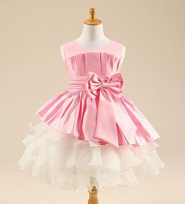 Pre-order ชุดราตรี / Size 120 / Pink