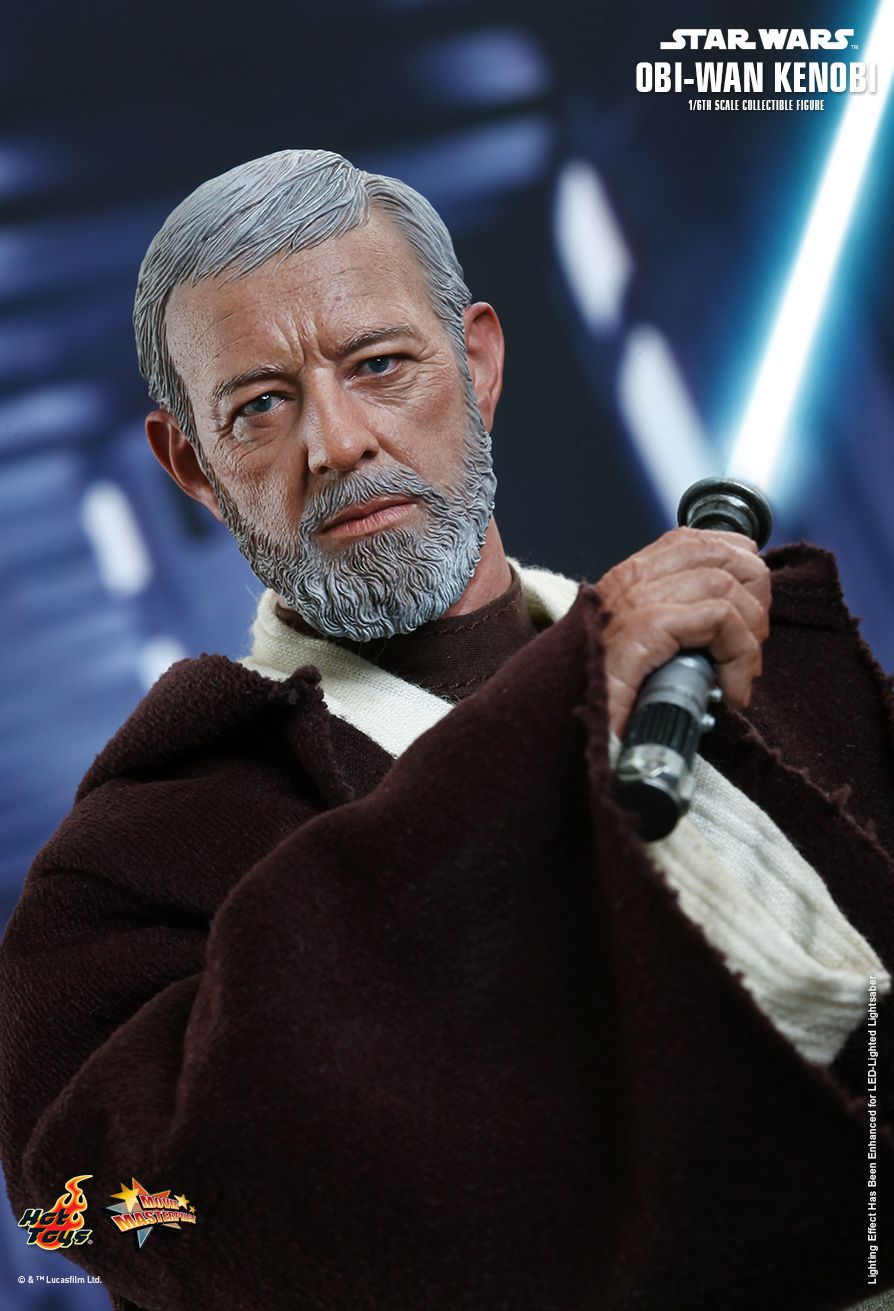 HOTTOYS MMS283 Star Wars: Episode IV A New Hope - Obi-Wan Kenobi