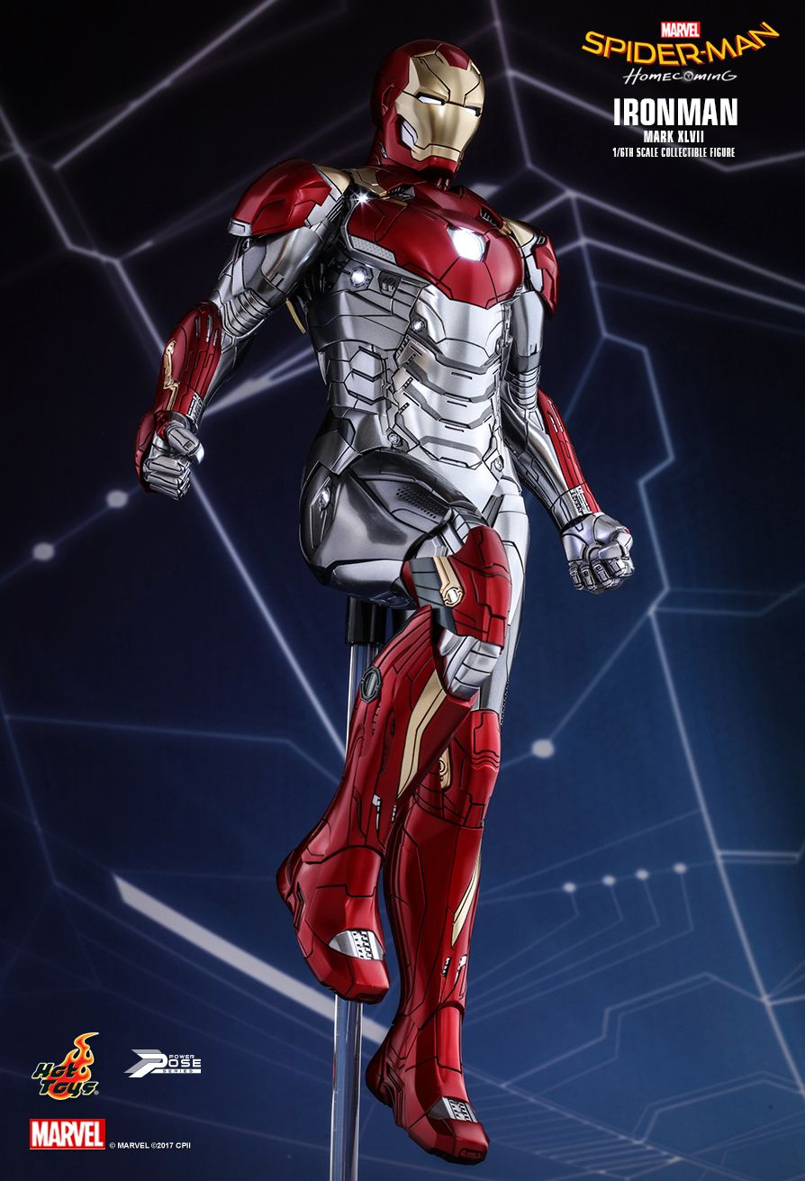 Hot Toys PPS004 SPIDER-MAN: HOMECOMING - IRON MAN MARK XLVII (MOVIE PROMO EDITION)
