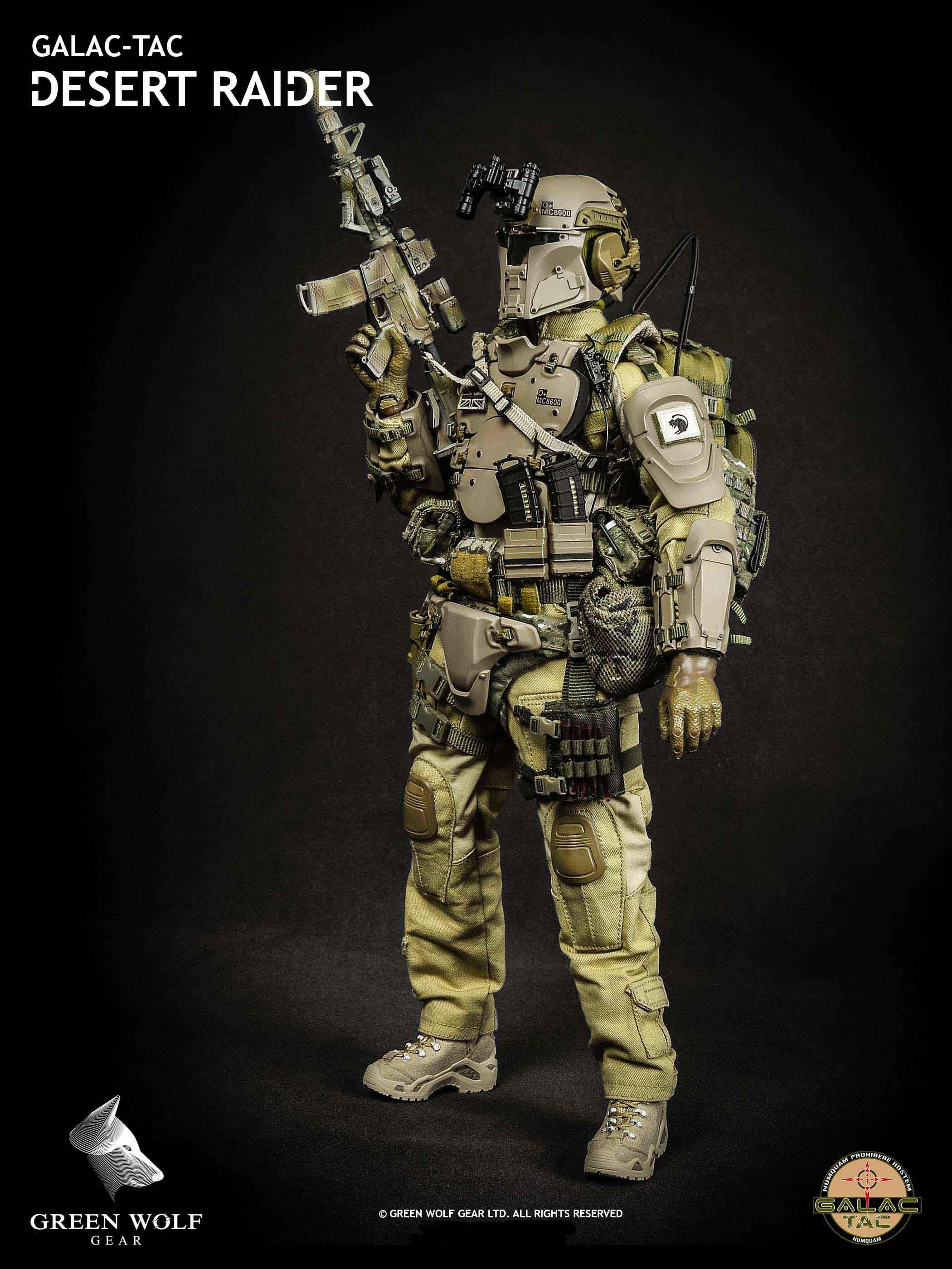 Green Wolf Gear GWG-004 Desert Raider - GALAC-TAC armour inspired.