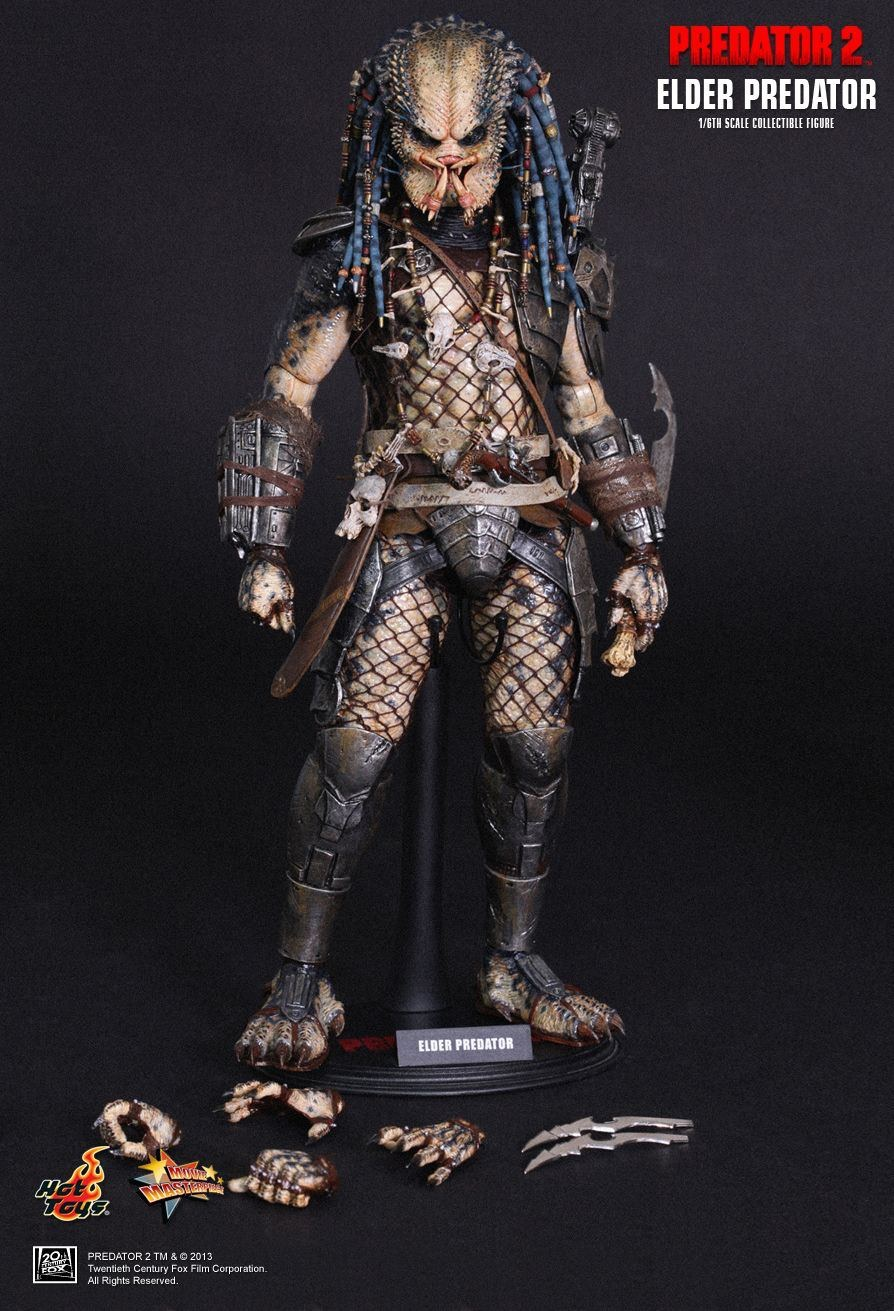 HOT TOYS MMS233 ELDER PREDATOR