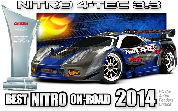 Nitro 4-TEC 3.3R 4WD On-Road with TQ 2.4 GHz #48077