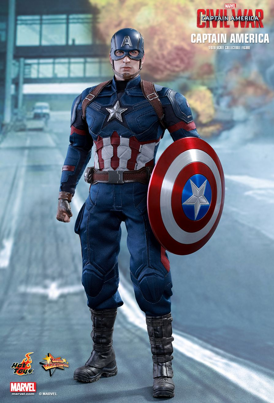 Hot Toys MMS350 CAPTAIN AMERICA: CIVIL WAR - CAPTAIN AMERICA