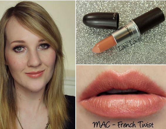 **พร้อมส่ง**MAC Lustre Lipstick #French Twist (Light Pinky Nude) ลิปสติกคุณภาพดีจาก M.A.C เนื้อ Lustre มอบความชุ่มชื่นให้ริมฝีปาก ด้วยสีโปรงแสงมีประกาย ช่วยเติมเต็มร่องผิวให้เรียบเนียนสนิท ให้สีติดทนเด่นชัด ,
