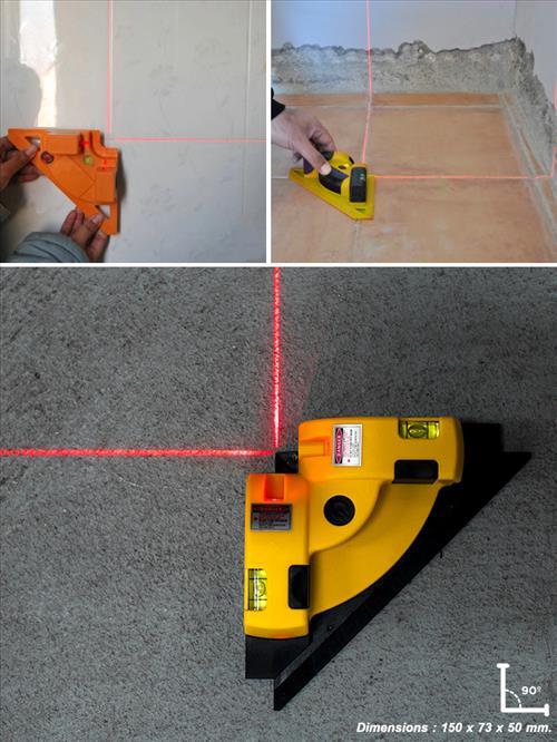 Laser level เลเซอร์วัดระดับแนวระนาบและตั้งฉาก 90องศา
