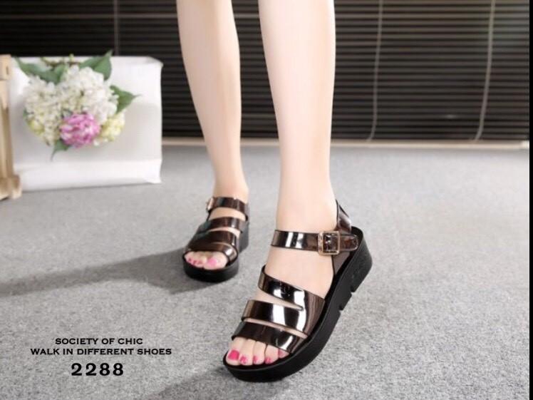 รองเท้าแตะเสริมส้น Style Wedge Sandals