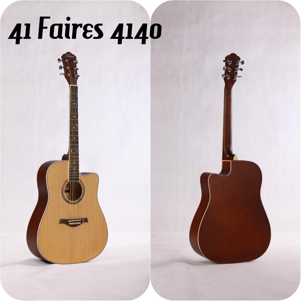 กีต้าร์โปร่ง 40 นิ้ว Faires รุ่น FD-4140