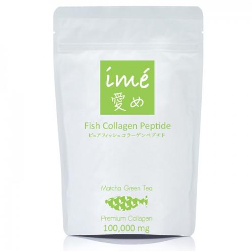 Ime Fish Collagen Peptide Matcha Green Tea ไอเม่ มัทฉะ ชาเขียว คอลลาเจนเปปไทด์จากปลา