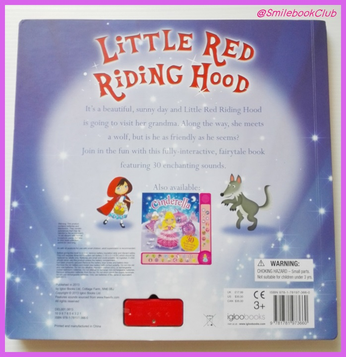 Little Red Riding Hood : 30 Enchanting Fairytale Sounds