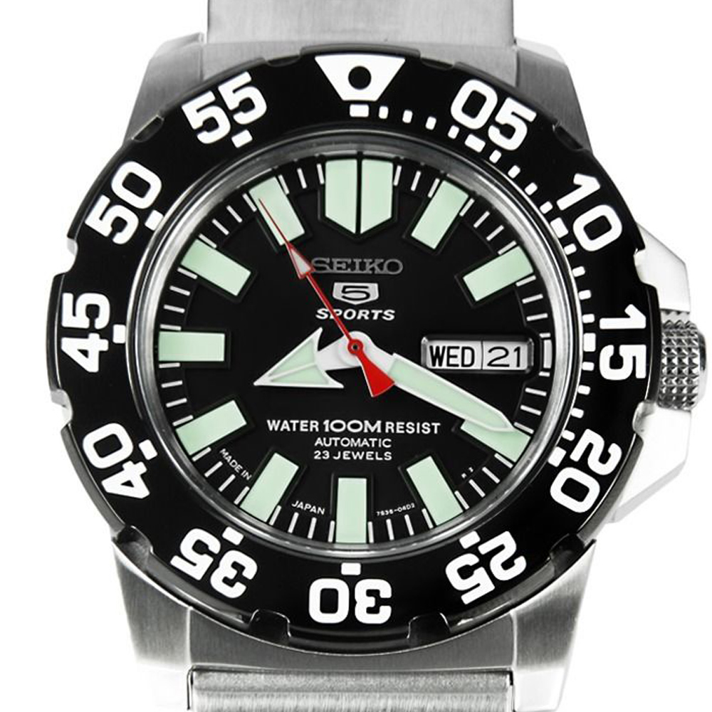 นาฬิกา Seiko Mini Monster Black snzf51