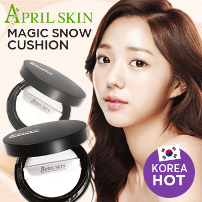 April Skin Magic Snow CC Cushion SPF50+ / PA+++(15g)