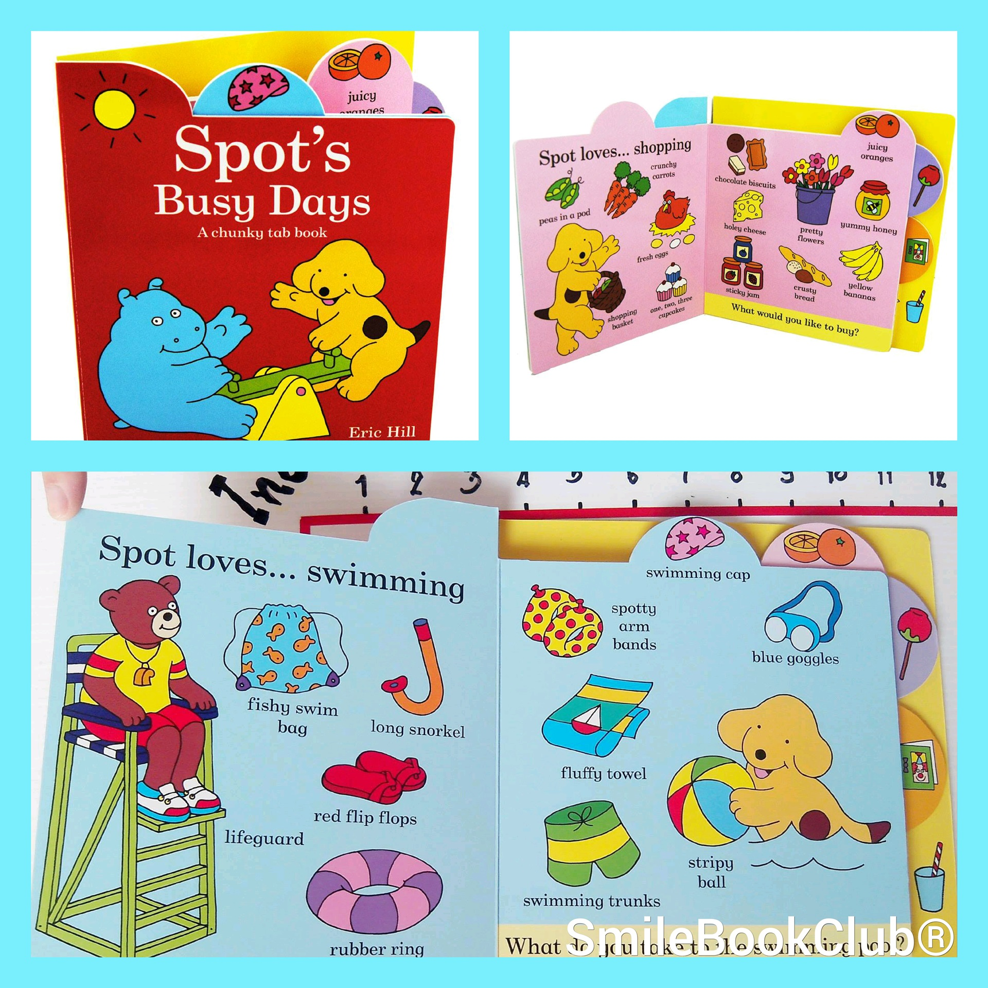 Spot's Busy days - Tab Book