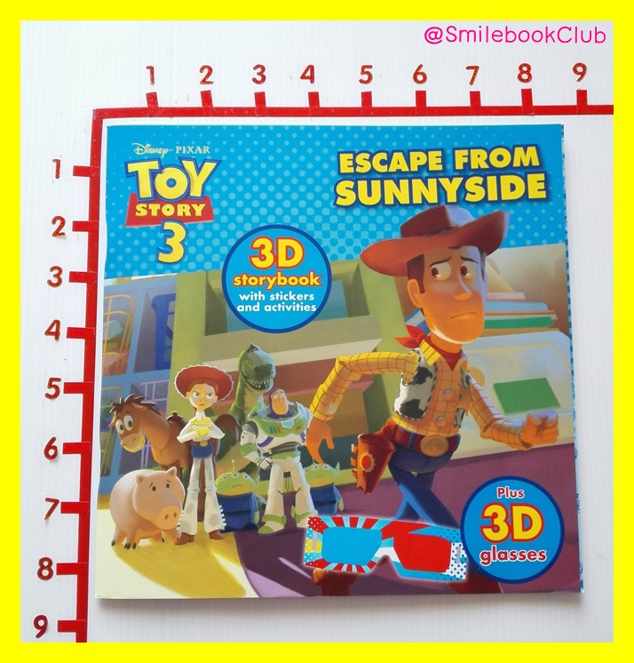 TOY STORY 3 : 3D storybook with stickers and activities