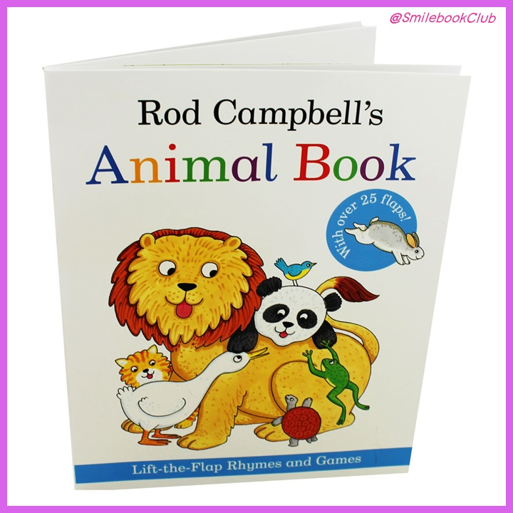Rod Campbells Animal Book - Lift the Flap Rhymes and Games