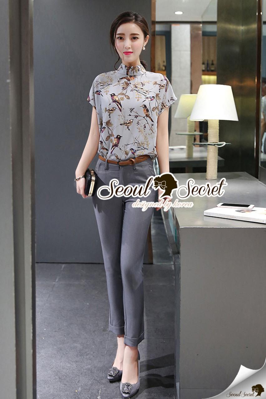 Seoul Secret Say's... Birdly Pastel Tone Color Chic Set