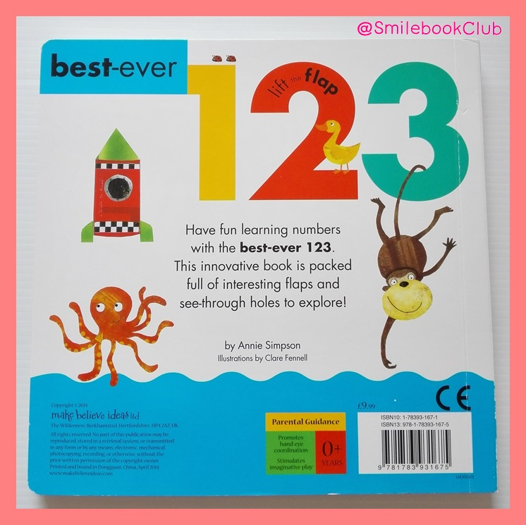 1 2 3 best-ever : lift the flap