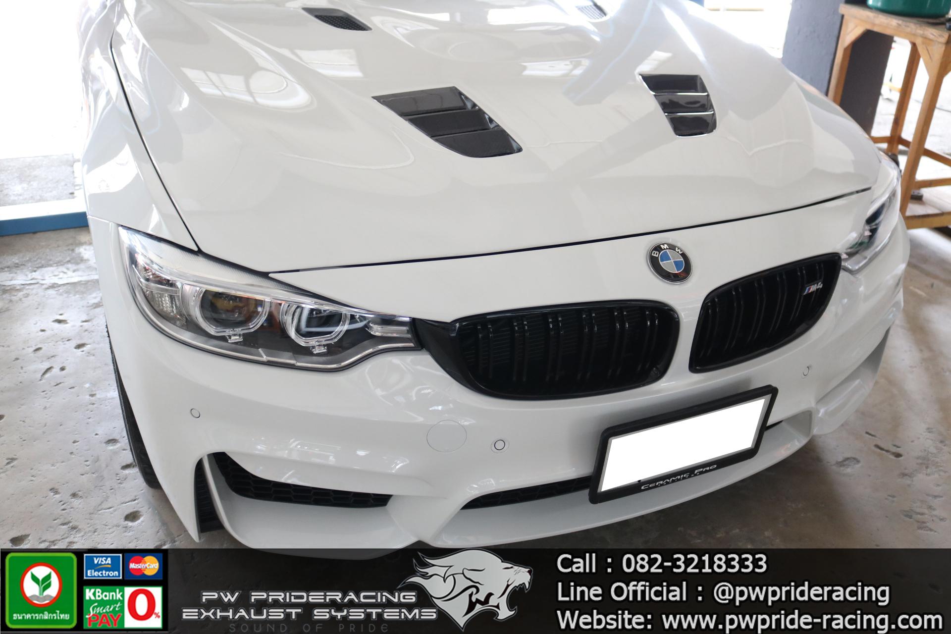 BMW Series4 Akrapovic Carbon Tailpipe by PW PrideRacing
