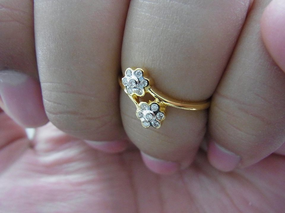 แหวนเพชรแท้