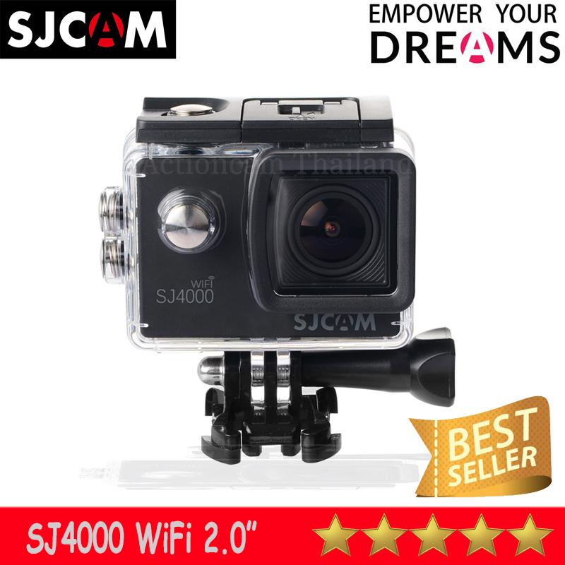 SJCAM SJ4000 WIFI 2.0 นิ้ว (Black) ประกัน 1 ปี