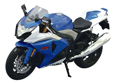 1/12 Complete Motorcycle Model SUZUKI GSX R1000 (Blue)(Tentative Pre-order)