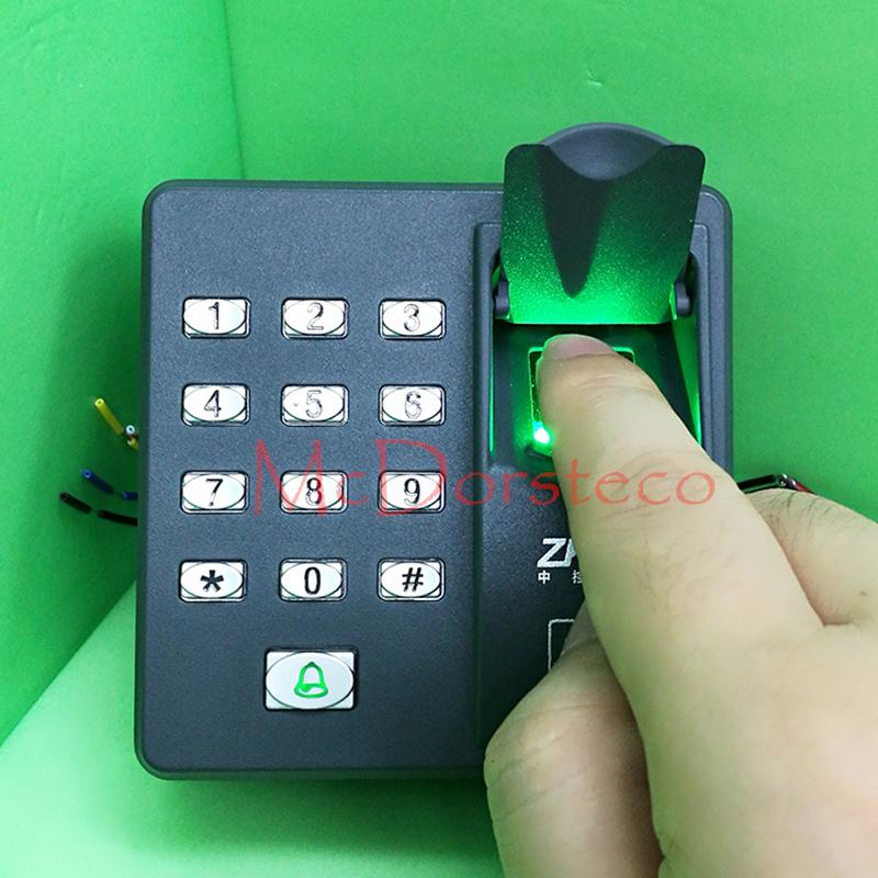 เครื่องทาบบัตร สแกนลายนิ้วมือ ประตูคีย์การ์ด X6