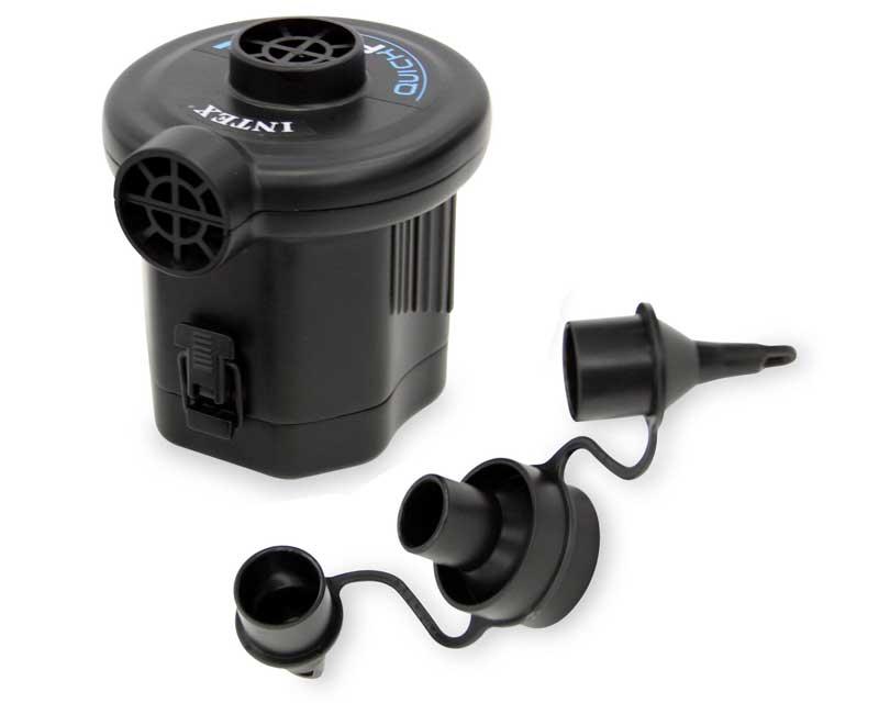 ที่สูบลมไฟฟ้า พลังแบตเตอร์รี่ ราคาส่ง รุ่น Intex 68638 ( Black )