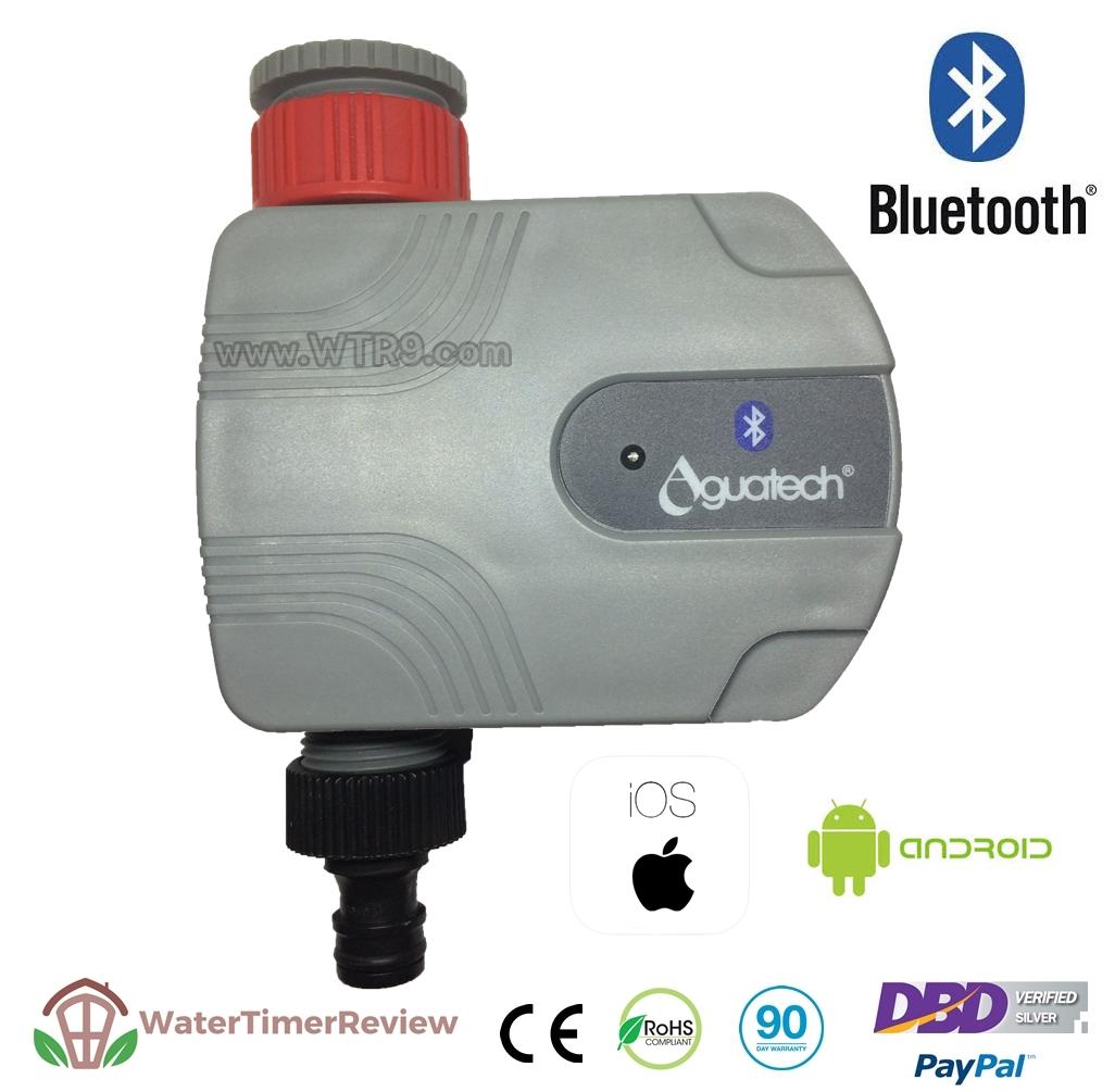 เครื่องตั้งเวลาเปิดปิดน้ำอัตโนมัติ รุ่น Bluetooth โซลินอยวาล์ว WTR-303