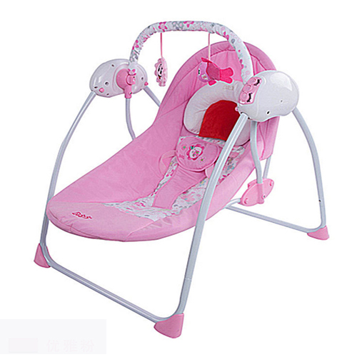 เปลอัตโนมัติ Primi รุ่น Little swing 1 (รุ่นมาตราฐาน) สีชมพู