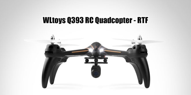 WLtoys Q393 Q393-A 6-axis Gyro Air Press Altitude Hold 5.8G FPV with 720P Camera RC Quadcopter RTF 2.4GHz