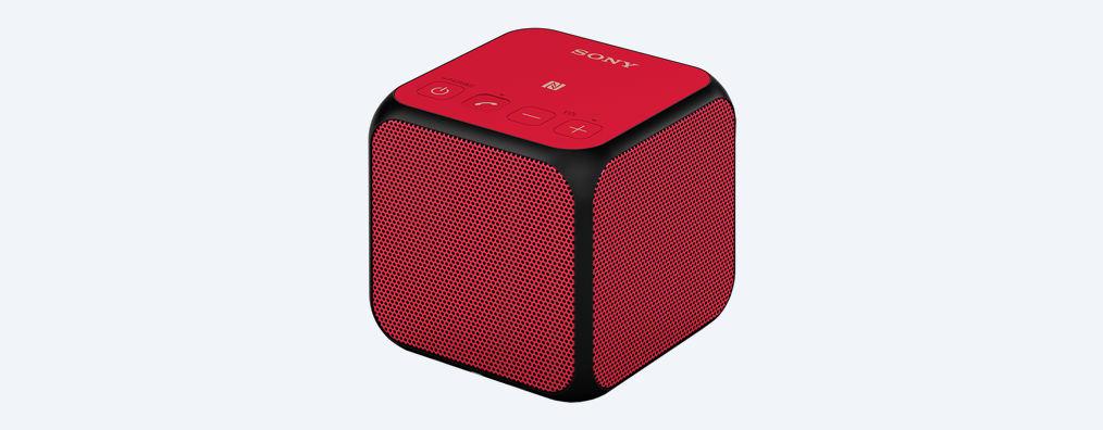 ลำโพงพกพา SONY SRS-X11 (Red)