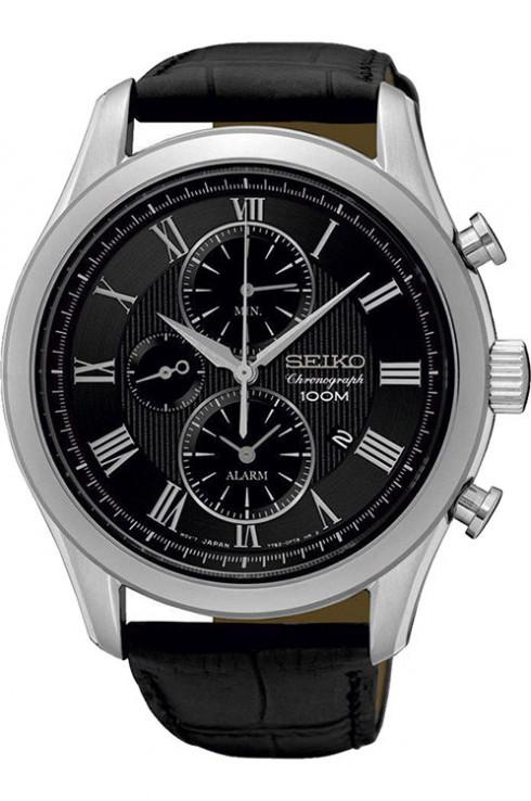 นาฬิกาผู้ชาย Seiko รุ่น SNAF71P1, Chronograph Alarm Quartz Men's Watch