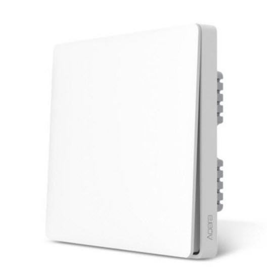 Xiaomi Aqara Wall Switch Zero Line Version (One Button) - สวิทซ์ไฟบ้าน (สายศูนย์ 1 ปุ่ม)
