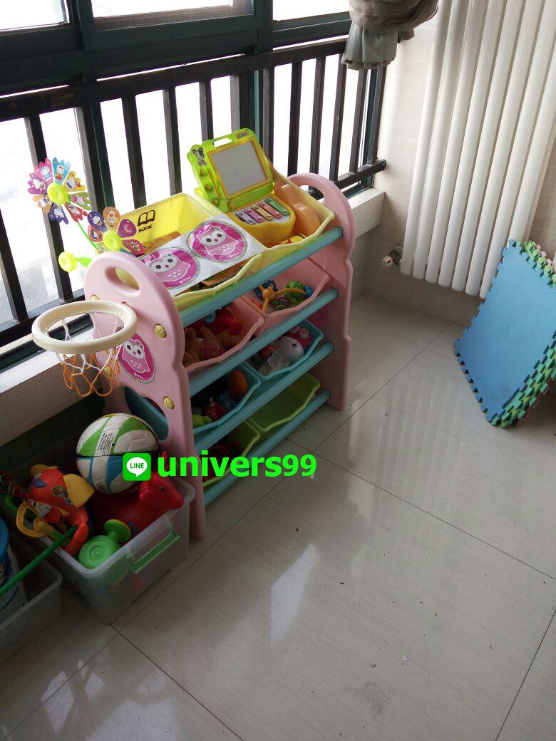 ชั้นวางของเล่น, ชั้นวางของ, ชั้นวางอเนกประสงค์, ชั้นวางของเล่น 3 in 1, ชั้นของเล่น ห่วงบาส, ชั้นของเล่น 3 in 1 ห่วงบาส