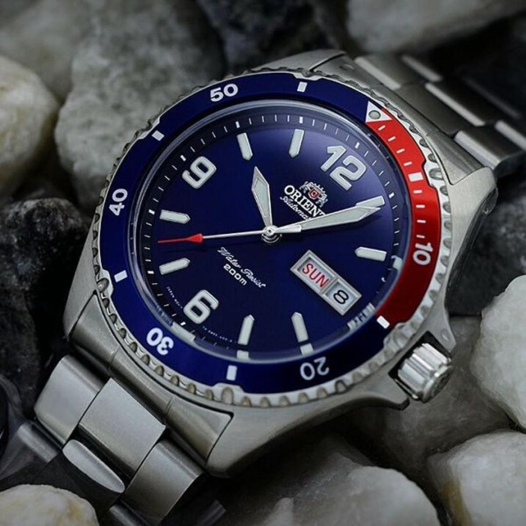 Orient Faa02009d9 Mako Ii Automatic 200m Mens Combat Fnr1h003b0 Ladies Watch 100 Brandname Swiss Luxury Watches