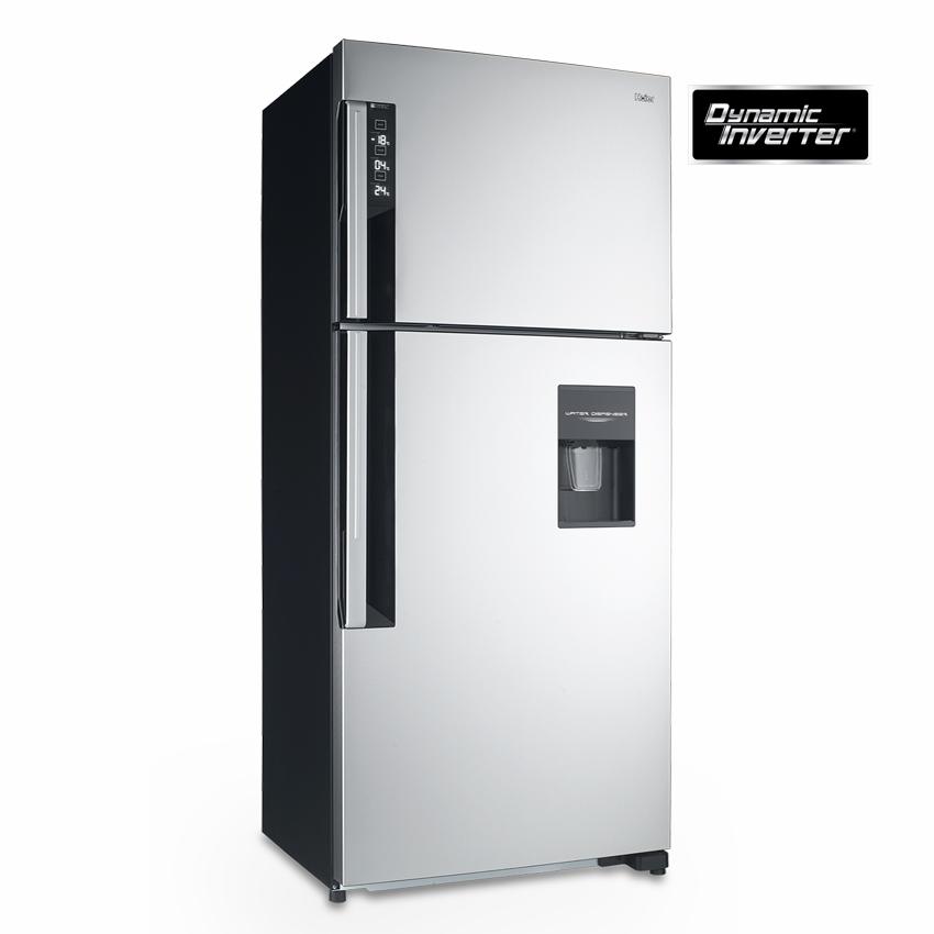 ตู้เย็น 2 ประตู 20.1 คิว Haier HRF-TMA540FI DSI สีเงินเมทาลิค