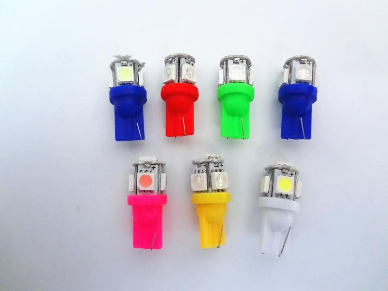 หลอดไฟ LED 5w ขั่ว T10 แบบ 5 ดวง