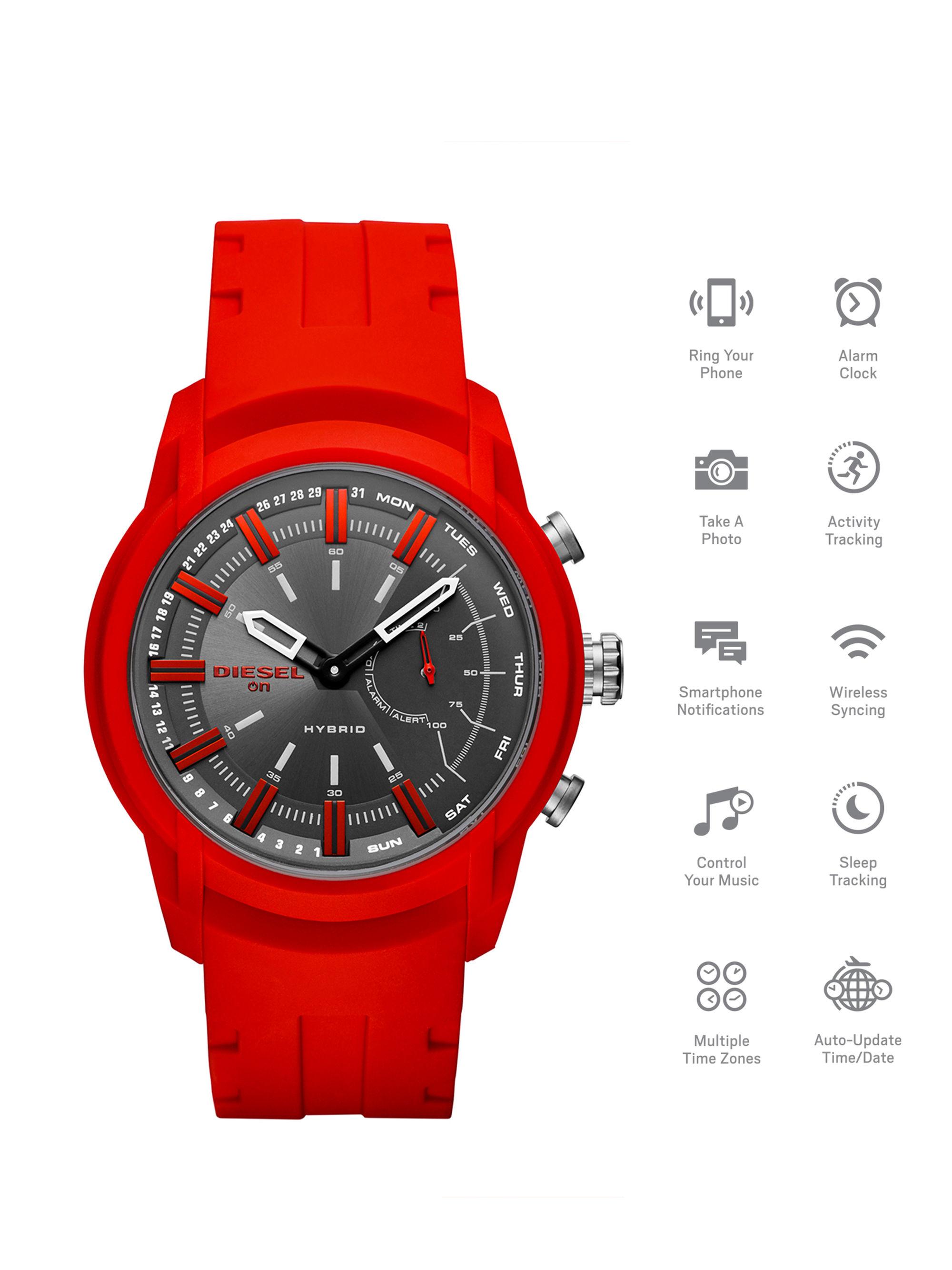 นาฬิกาผู้ชาย Diesel รุ่น DZT1016, Diesel On Armbar Hybrid Men's Watch