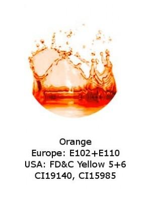 Orange Powder (CI19140, CI15985) Dye